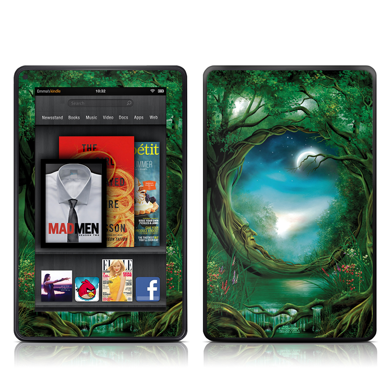 Decalgirl Kindle Skin Moon Tree