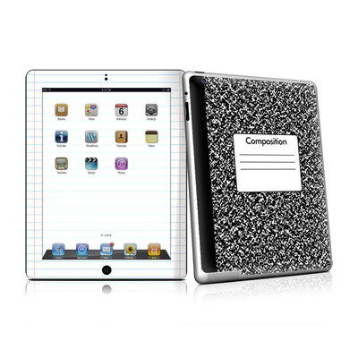 iPad 2 Skin - Composition Notebook